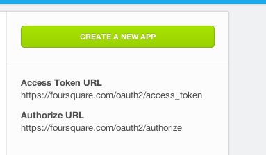 foursquare app map R